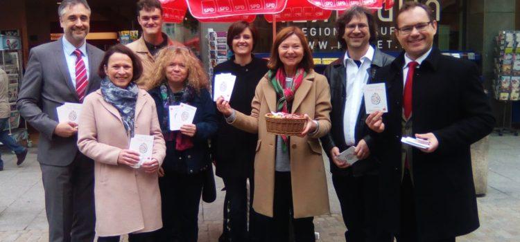 Frohe Ostern wünscht die Regensburger SPD!